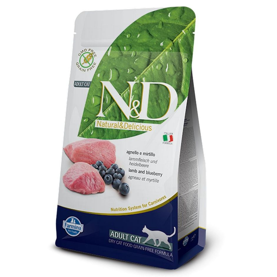Farmina N&D Grain-Free Lamb & Blueberry for Cats