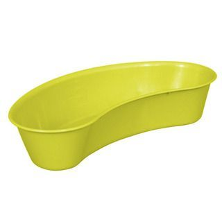 Yellow Plastic Kidney Dish
