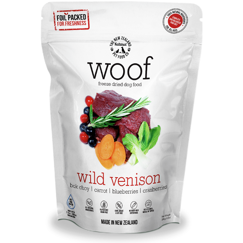 Woof Freeze Dried Venison